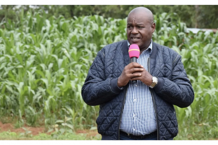 MP Caleb Kositany wants leaders vying for office to undergo a drug test