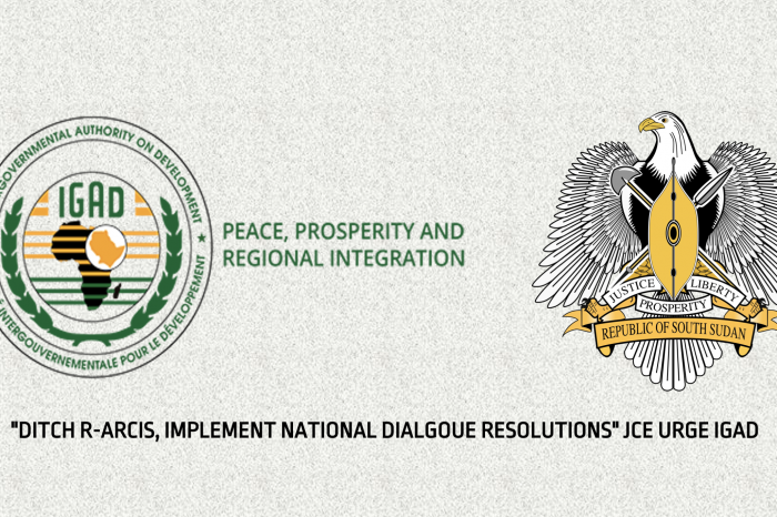 """""""DITCH R-ARCIS, IMPLEMENT NATIONAL DIALOGUE RESOLUTIONS"""" JCE URGE IGAD"""