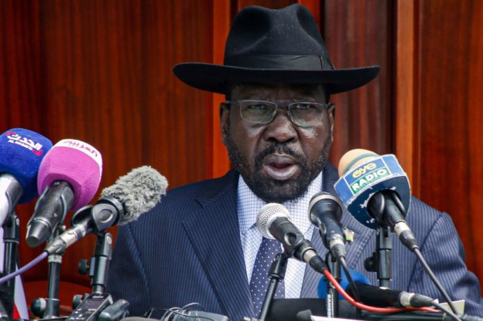 Kiir briefed on state government formation