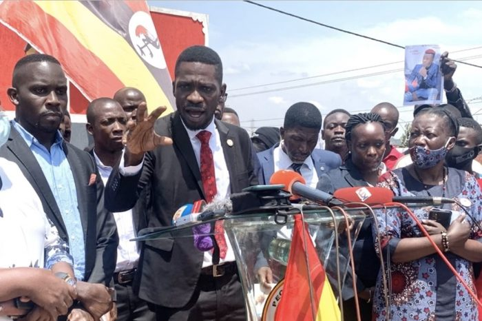 What triggered Bobi Wine presidential poll petition withdrawal?