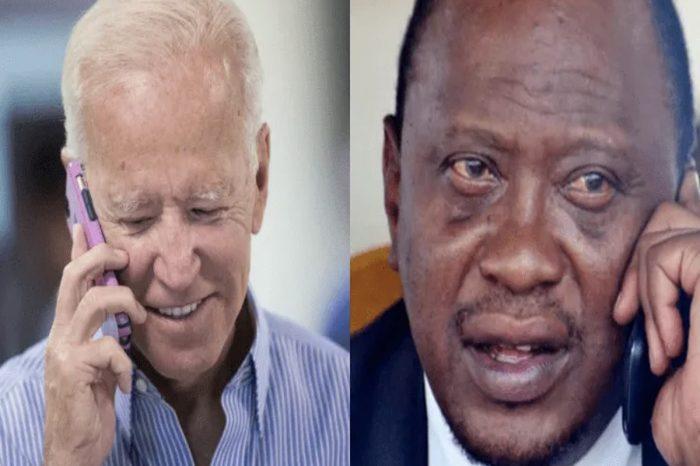 Biden Applauds Kenya's Leadership In Horn of Africa In First Official Phone Call With Uhuru