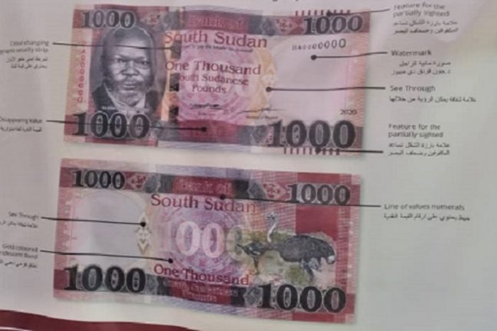 Introducing New banknotes Points to Corruption, Failing Economy: Bishop in South Sudan