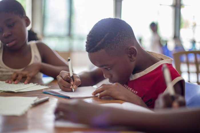Primary school exams sent by air to conflict zones