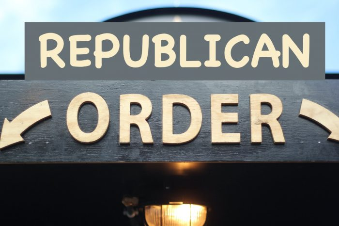 {Republican Order} Delegation of Power to the Governors of the Ten(10) States