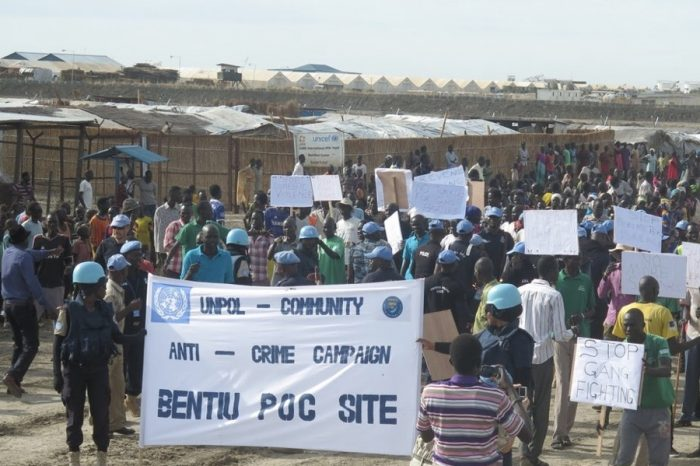 UNMISS hand over Bentiu PoC to Unity State Government
