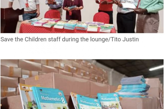 SAVE THE CHILDREN DONATES OVER 1 MILLION TEXTBOOKS TO SOUTH SUDAN