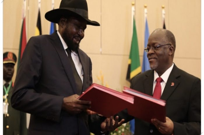 Kiir joins other Africa leaders to mourn Magufuli, declares three days mourning period.