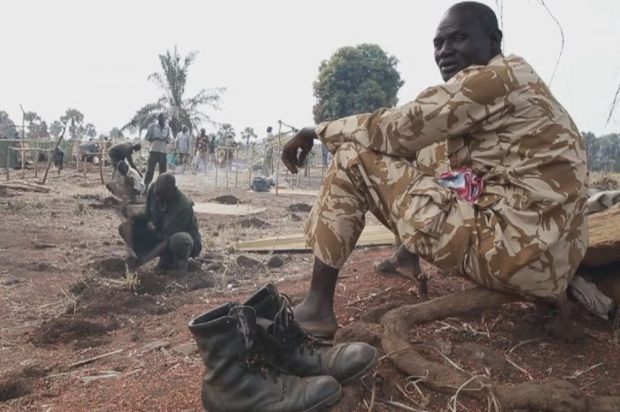 Soldiers at Maridi center resorted to casual labor to survive as the unification of forces is stagnated.