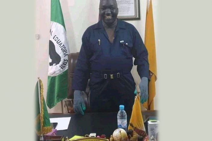 "Juba new mayor, Faustino launched the ""Clean-up Juba"" campaign"