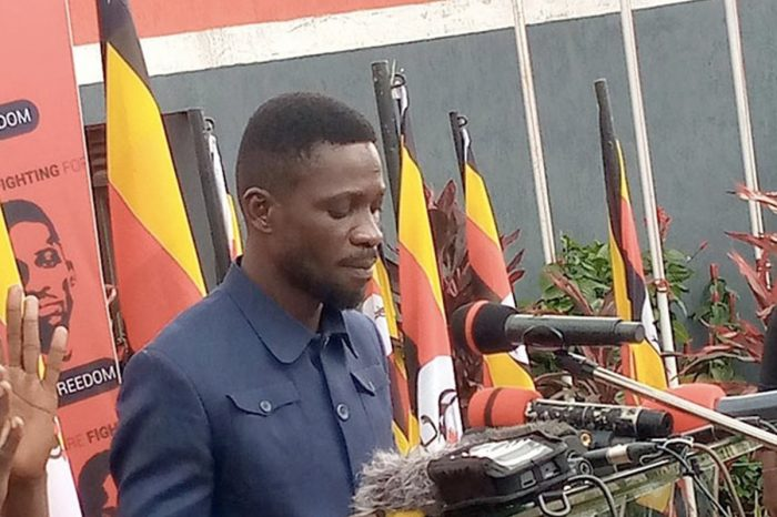 Bobi Wine declares self winner of presidential election with 54%