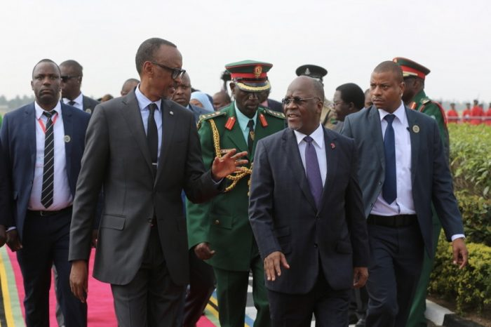 Paul Kagame mourns Magufuli, declared Thursday a period of national mourning