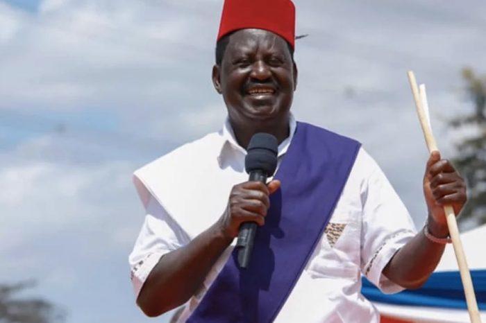 Kenya's Raila Odinga tests positive for Covid-19