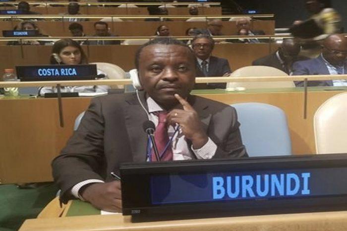 Meet Zéphyrin Maniratanga, Burundi's new permanent representative to the UN