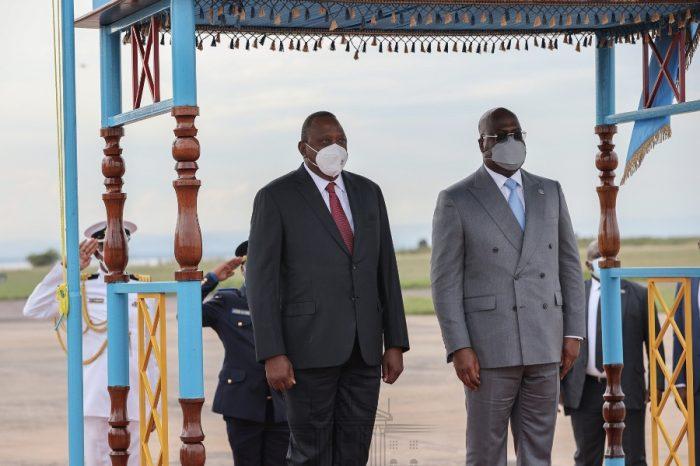 President Kenyatta in Kinshasa to 'cement bilateral ties between Kenya and the DRC'