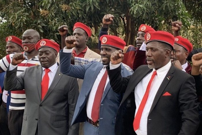 Bobi Wine warned newly elected party leaders not to be compromised by President Museveni.