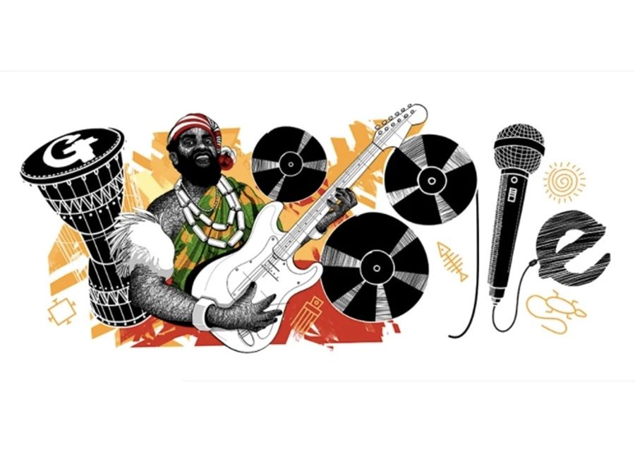 Google Doodle honors Oliver De Coque on his 74th Birthday