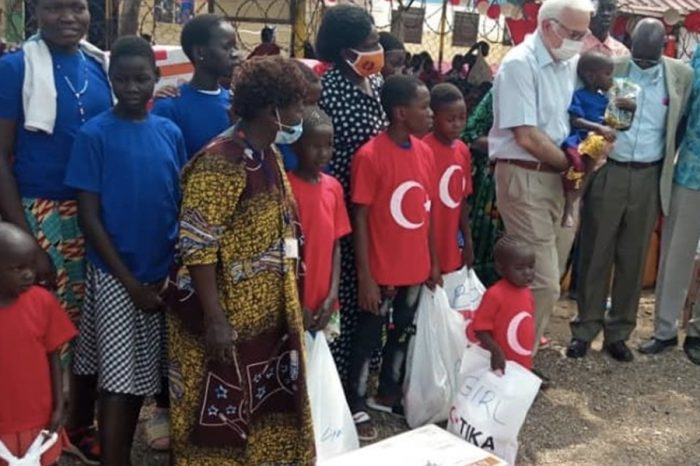 Turkey delivers supplies to orphanage in South Sudan