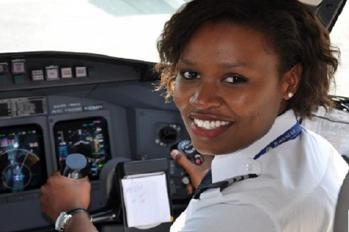 Meet Esther Mbabazi Rwanda's First Female Commercial Pilot