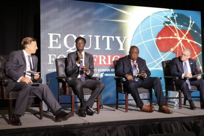 Chagor, in Washington DC for Equity for Africa's Conference
