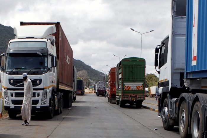 Almost 270 trucks entered Juba guarded, with most perishable goods gone bad