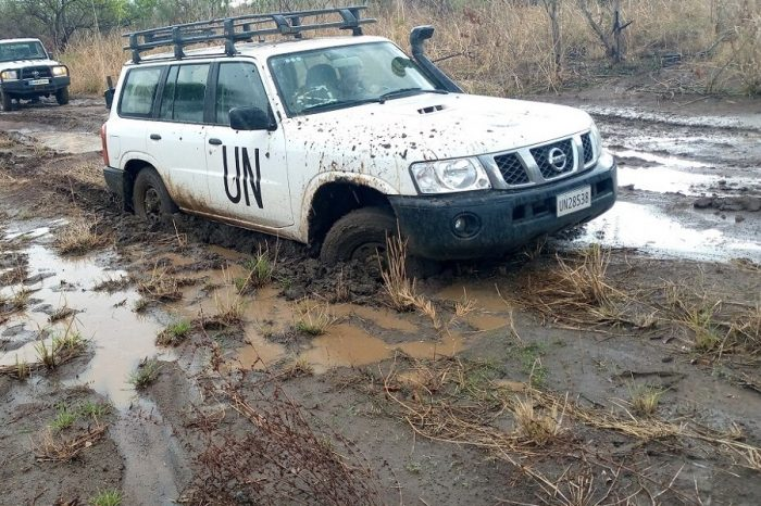 UNMISS PEACEKEEPERS RESCUE UNMAS CONTRACTORS FOLLOWING AN ARMED AMBUSH IN EASTERN EQUATORIA