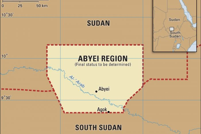 Kiir forms a 10-member committee led by Tut Galuak, to start a dialogue over Abyei status