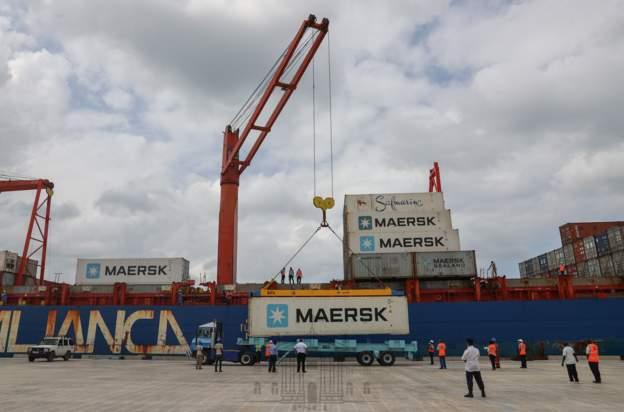 First cargo ships arrive at Kenya's Lamu port