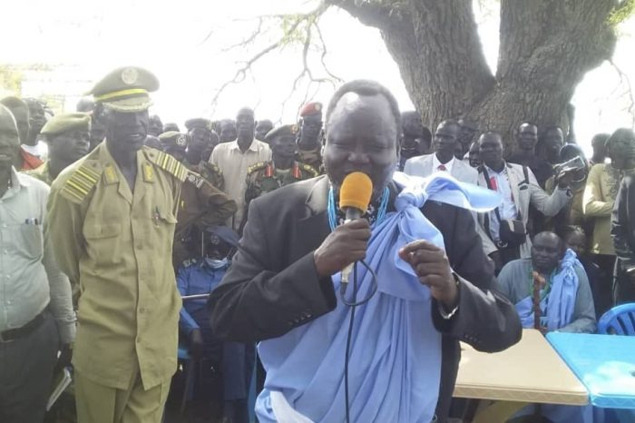 """Upper Nile Local Gov't Minister Gathoth Gatkuoth order Chiefs to pay in """"US Dollar"""""""