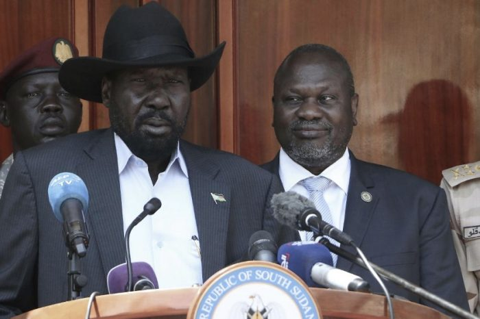 S. Sudan Gov't awaits lifting of the arms embargo, refused to fund security arrangements.