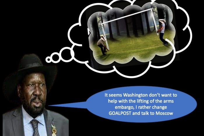 Why is Kiir so desperate about the acquisition of Firearms?