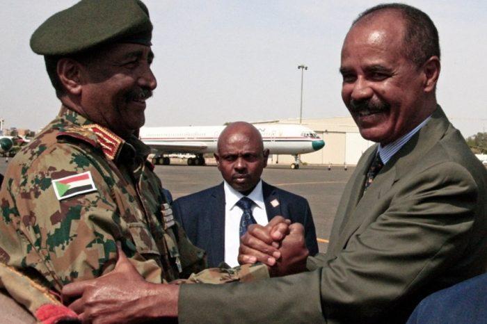 Eritrea's Isaias meets Sudanese leaders amid Ethiopia tension, Discuss Regional Integration