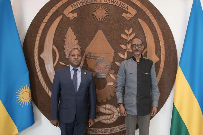 President Kagame reaffirmed his commitment to the EAC integration agenda during EAC Secretary General Visit