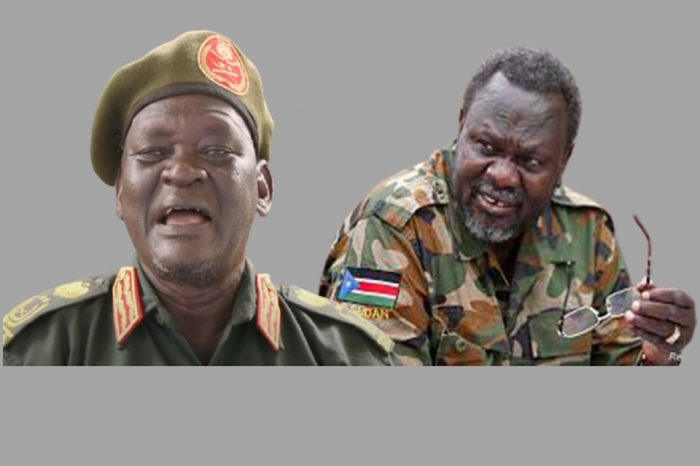 Your appointment is in line with the revitalized peace agreement- Machar tells Gatwech as he relieved him of his position