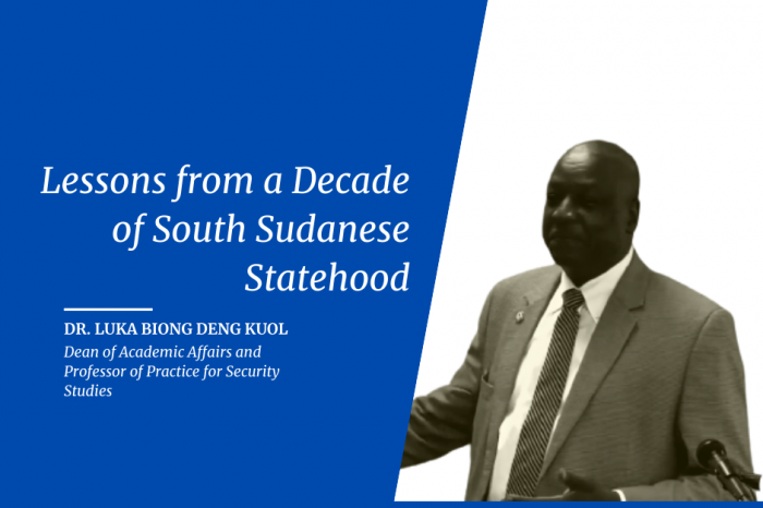 Lessons from a Decade of South Sudanese Statehood