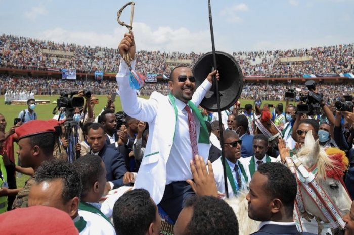 Today's elections will be the first test of voter support for Abiy's government