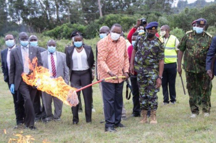 President Kenyatta Offers Jobs to Illegal Gunmakers