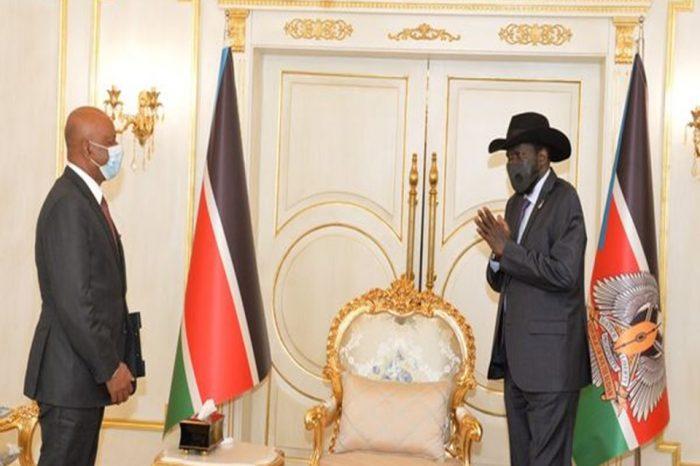 Ethiopian minister, Dr. Seleshi and President Kiir discussed GERD and Sudan-Ethiopia border dispute.
