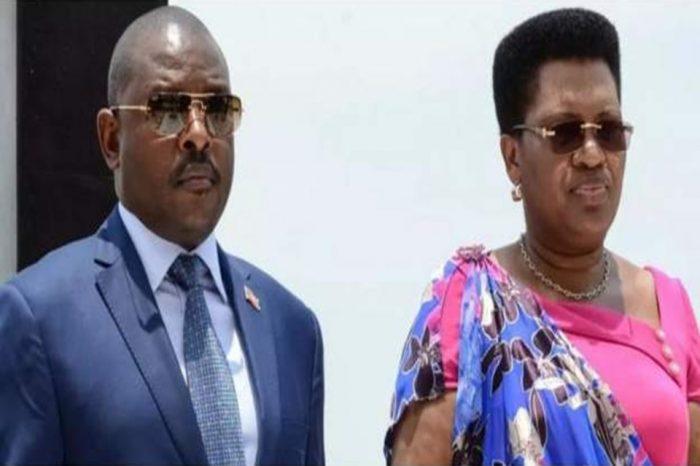 Former Burundi first lady eulogizes Nkurunziza