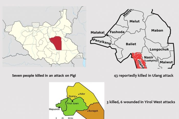 Cattle-related killings and revenge attacks soar as over 50 killed within a week.