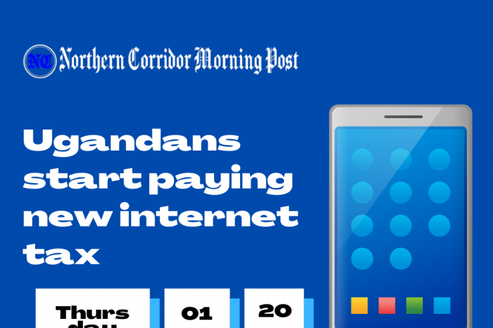 Uganda imposes a 12% tax on all internet packages