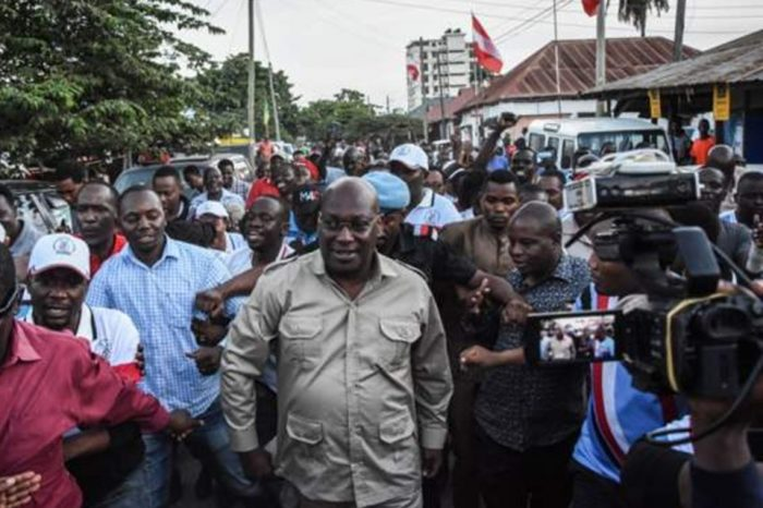 Tanzanian opposition leader faces terrorist charges.