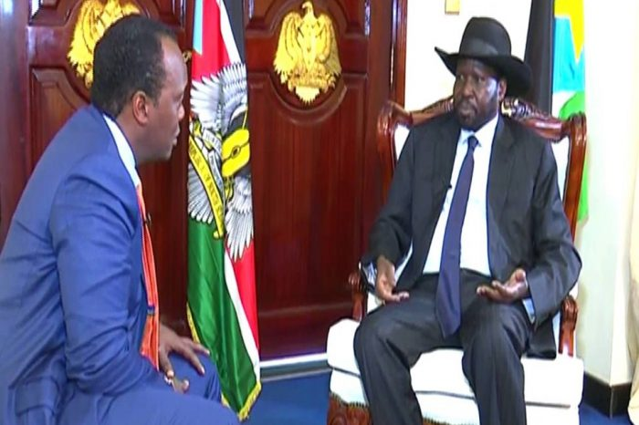 President Salva Kiir on whether he will run for Presidency in 2023: If I am told by the people & the party to run, I will have no choice.