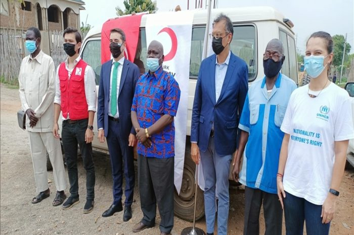 Turkey's Red Crescent distributes meat to the poor in South Sudan in honour of the Muslim holiday
