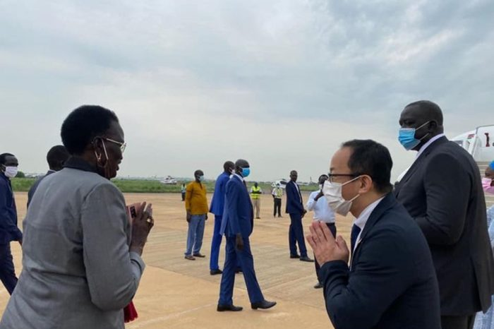 VP Rebecca Garang travels to Japan to attend Olympic Games