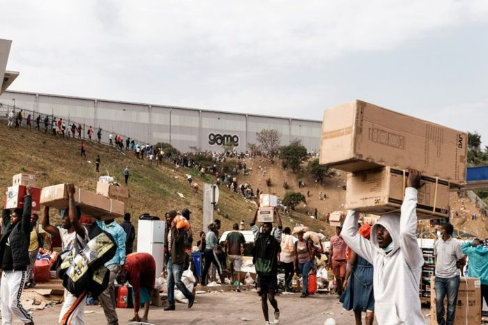 African Union condemns violence in South Africa as death toll climbs to 72