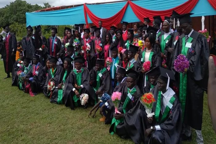 South Sudan's New Graduate Nurses and Midwives Are Urged to Demonstrate Humility in Daily Duties