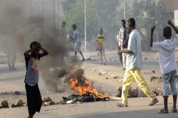 Six Sudanese paramilitary officers have been sentenced to death for their involvement in the killing of student protesters