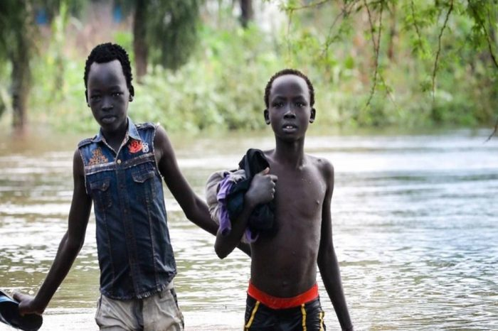 Flooding kills seven people in South Sudan's Unity State, according to officials.