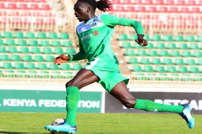 South Sudan international striker Tito Okello has given Kenyan champions Gor Mahia two options: settle all outstanding debts or terminate his contract.