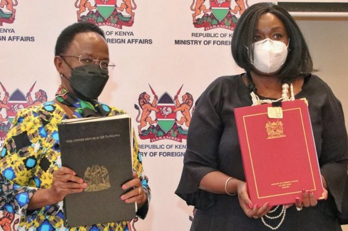Kenya and Tanzania have set a deadline of December to eliminate trade obstacles.